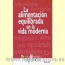 La Alimentación Equilibrada en la Vida Moderna Libro, Ana María La Justicia EDAF en Herbonatura.es