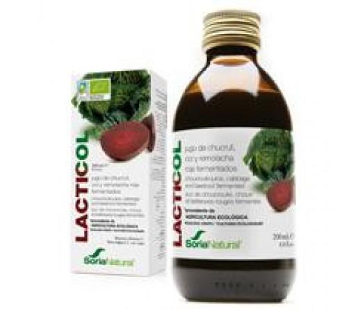 Lacticol Ecológico Fermentación láctica de coles y remolacha 200ml. SORIA NATURAL