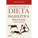 Las Recetas de la Dieta Paleolítica, Más de 150 recetas Libro, Loren Cordain URANO en Herbonatura.es