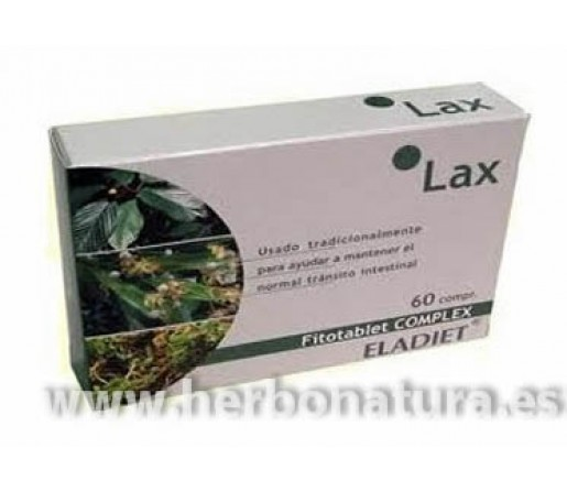 Lax Fitotablet Complex Laxante Tránsito Intestinal 60 comprimidos ELADIET