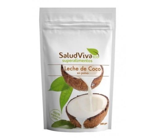 Leche de Coco en Polvo Organica Bio y Cruda 200gr. SALUD VIVA