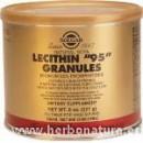 """Lecitina """"95"""" Gránulos 227gr. SOLGAR en Herbonatura.es"""