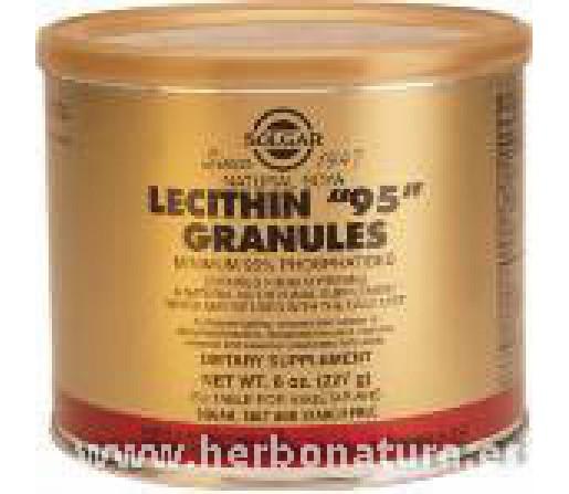 "Lecitina ""95"" Gránulos 227gr. SOLGAR"