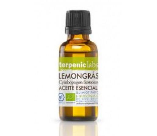 Aceite Esencial Lemongras Ecológico (Cymbopogon flexuosus) 30ml. TERPENIC LABS
