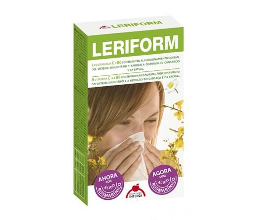 Leriform Alergiform, Alergias. Te ayuda a reforzar tus defensas naturales. 60 cápsulas INTERSA