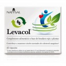 Levacol. Levadura de Arroz Rojo, Red Yeast Rice con plantas 60 cápsulas NATYSAL