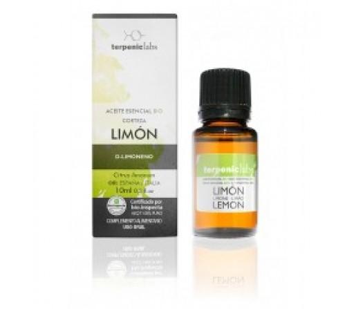 Aceite Esencial Limón Ecológico (Citrus X limon) 10ml. TERPENIC LABS