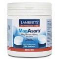 Magnesio MagAsorb Citrato de magnesio 180 comprimidos LAMBERTS