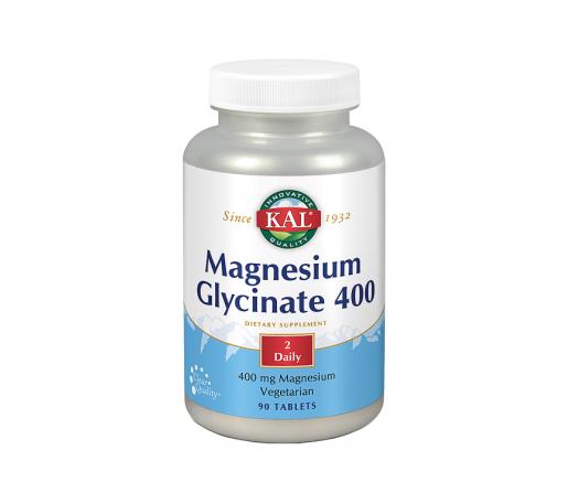 Magnesio Glycinate, Glicinato 90 comprimidos KAL SOLARAY