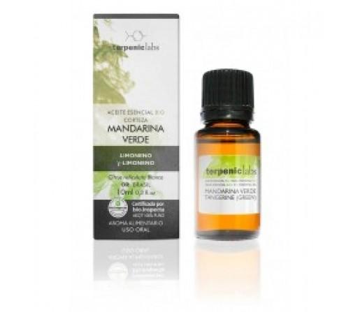 Aceite Esencial Mandarina Verde Ecológico 10ml. (Citrus reticulata blanco) TERPENIC LABS