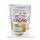 Manteca de Cacao Cruda y Ecológica de Perú 250gr. MUNDO ARCOIRIS en Herbonatura.es