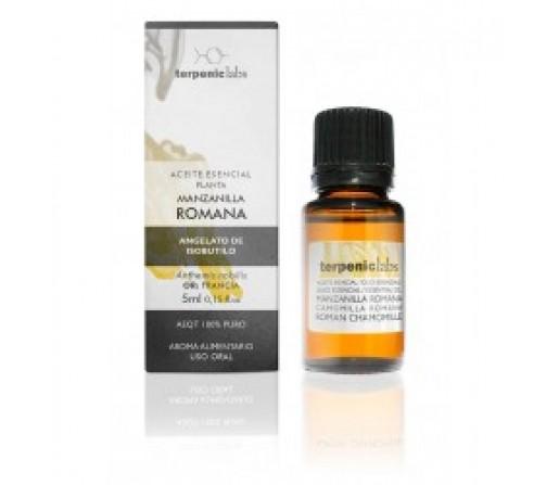 Aceite Esencial Manzanilla Romana (Anthemis nobilis) 5ml. TERPENIC LABS