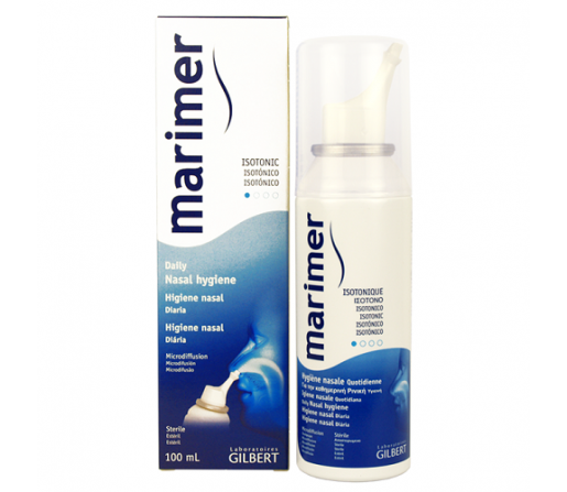 Marimer Spray Higiene Nasal Diaria Isotonica 100ml. GILBERT