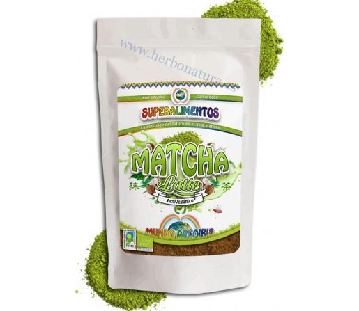 Matcha Latte Polvo Ecológico, 250gr. Mundo Arcoiris SUPERALIMENTOS