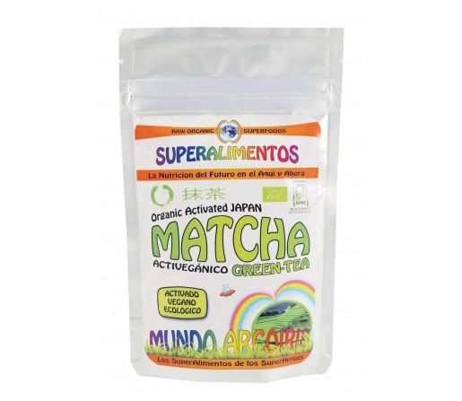 Matcha Té Japonés Polvo Ecológico, Activado y Orgánico 50gr. SUPERALIMENTOS