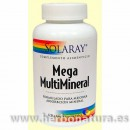 Mega Multi Mineral 120 cápsulas SOLARAY en Herbonatura.es