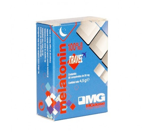 Melatonin Travel 1,9 mg. de Melatonina 90 comprimidos SORIA NATURAL