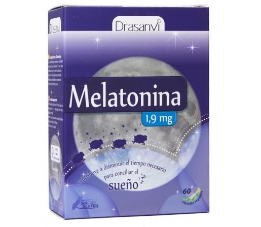 Melatonina 1,9mg. 60 cápsulas DRASANVI