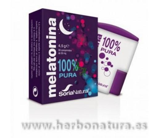 Melatonina Pura 1mg. 90 comprimidos SORIA NATURAL