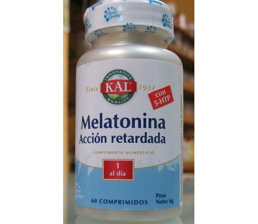 Melatonina Acción retardada 1,9mg. con 5-HTP 60 comprimidos KAL
