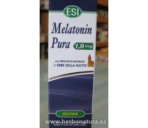 Melatonina Pura 1,9mg. extracto 50ml. ESI