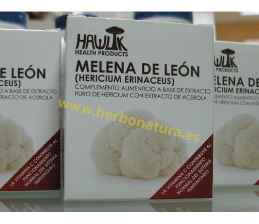 Melena de León (Hericium erinaceus) con Acerola 60 cápsulas HAWLIK
