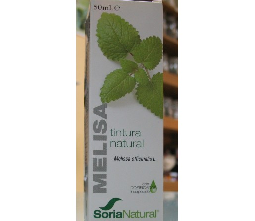 Melisa Extracto, tintura natural 50ml. SORIA NATURAL