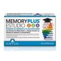 Memory Plus Estudio con Centella, Bacopa, Ginkgo... 30 cápsulas NATYSAL