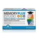Memory Plus Estudio con Centella, Bacopa, Ginkgo... 30 cápsulas NATYSAL en Herbonatura.es