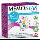 Memostar Focus Memophenol, Zinc, Melisa, Bacopa... 30 sobres INTERSA en Herbonatura.es