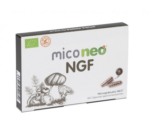 Mico Neo NGF, Bacopa, Reishi, Cordyceps, Melena de león, Camu camu 60 cápsulas NEO