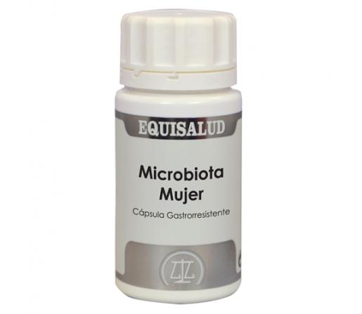Microbiota Mujer, Probióticos y FOS 60 cápsulas EQUISALUD