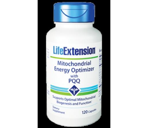 Mitochondrial Energy Optimizer con PQQ, Mitocondrial Energético 120 cápsulas LIFEEXTENSION