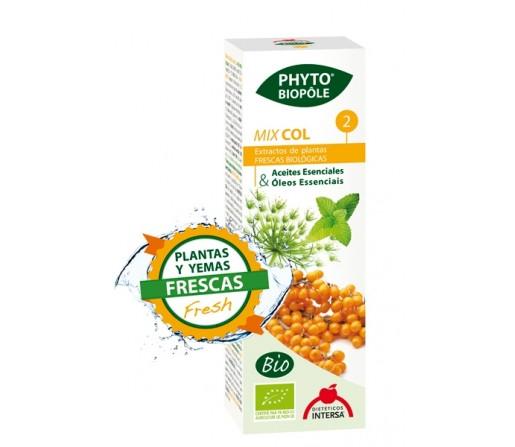 Mix Col 2 Bio Extracto Planta y Yemas Frescas Phyto-biopôle 50ml. INTERSA