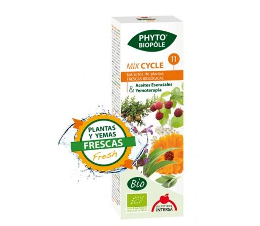 Mix Cycle 11 Extracto Bio Planta y Yemas Frescas Phyto-biopôle 50ml. INTERSA