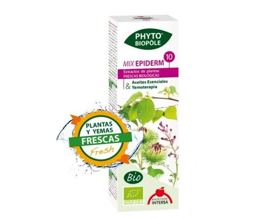 Mix Epiderm 10 Bio Planta y Yemas Frescas Extracto Phyto-biopôle 50ml. INTERSA