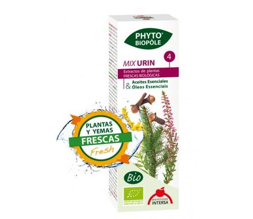 Mix Urin 4 Extracto Bio Planta y Yemas Frescas Phyto-biopôle 50ml. INTERSA