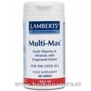 Multi-Max multinutriente para mayores de 50 años 60 comprimidos LAMBERTS