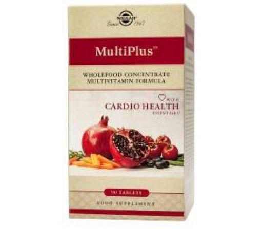 Multiplus Cardio Health Multinutriente función cardiaca 90 comprimidos SOLGAR