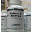 Vitamina C 1000mg Natural C 100 tabletas con Bioflavonoides DOUGLAS