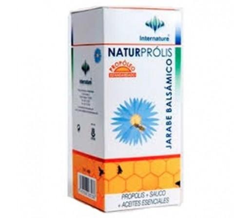 Naturprólis Jarabe Balsámico Própolis, Sauco, Aceites esenciales 250ml. INTERNATURE