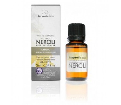 Aceite Esencial Neroli (Citrus Aurantium amara), 2ml. TERPENIC LABS