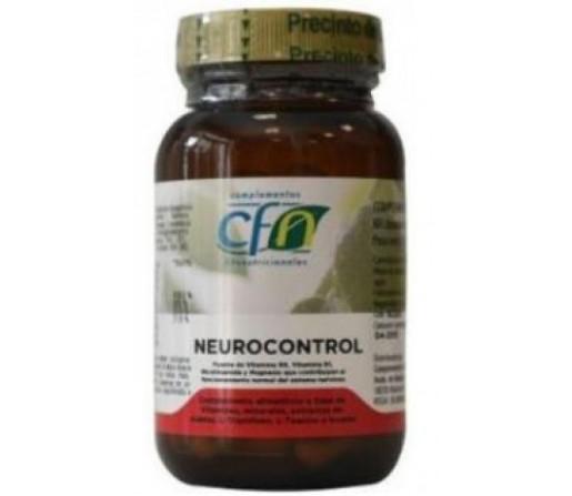 Neurocontrol, Triptófano, Teanina, Magnolia, Azafrán.. 60 cápsulas CFN