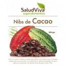Nibs de Cacao Puro Biológico y Orgánico Superalimento 250gr. SALUD VIVA en Herbonatura.es