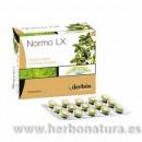 Normo LX ayuda a regular el tránsito intestinal Sen, Aloe, Hinojo 75 comprimidos DHERBOS