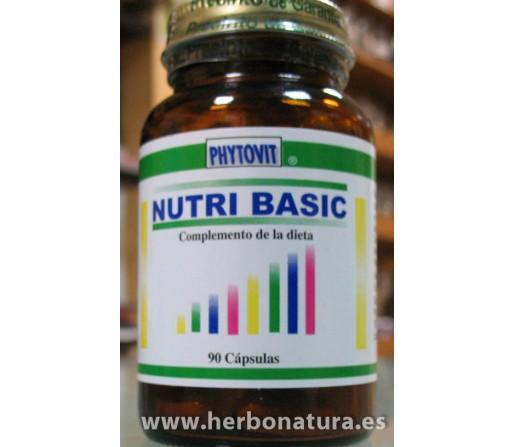 Nutri Basic (Alcalinizante) 90 cápsulas PHYTOVIT