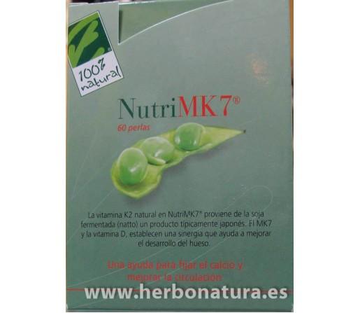 Nutri MK7 (45mcg. Vitamina K2 natural) 60 perlas 100% NATURAL