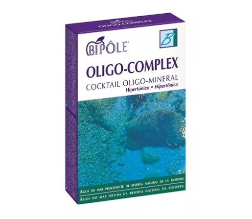Oligo Complex Cocktail Oligo-Mineral Agua de Mar 20 ampollas Bipole INTERSA
