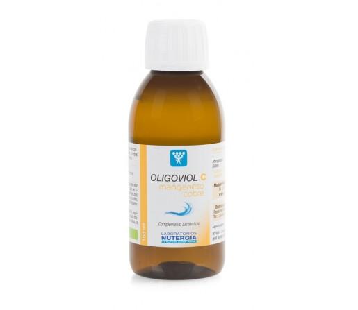 Oligoviol C Agua Marina con Gluconatos 150ml. NUTERGIA