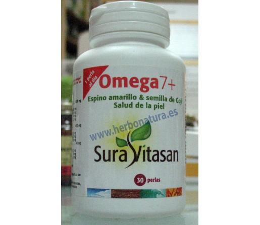 Omega 7 Espino Amarillo y Goji. Salud de la Piel 30 perlas SURA VITASAN